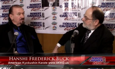 1-Robert Cardoza Live Interviews Hanshi Frederick S