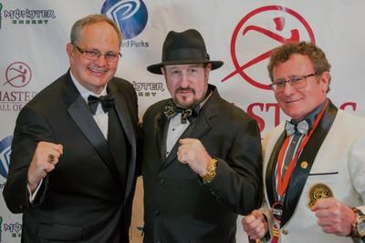 Dan Hect, Alan Goldberg and Dr. Robert Goldman.