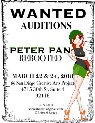 Peter Pan Reboot Audition Poster 2